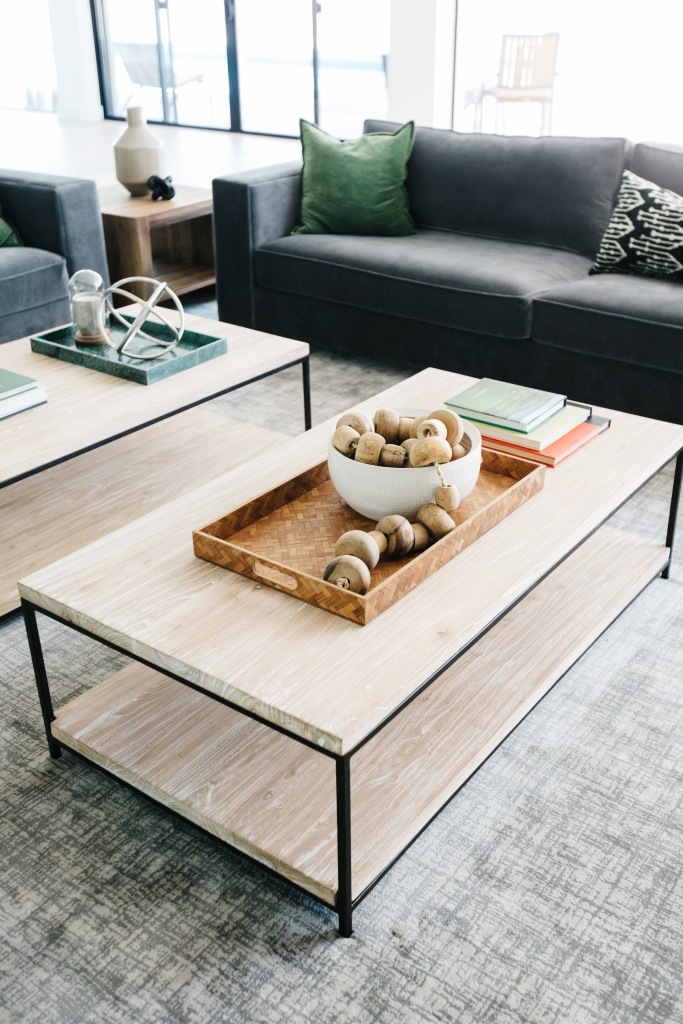 sleek modern light wood coffee tables